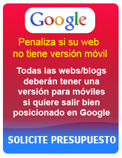 Adapte su web para móvil